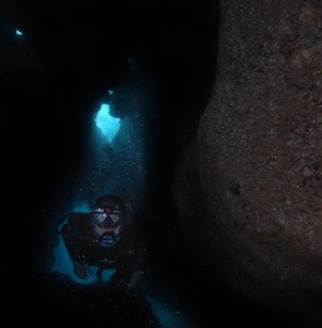 Diving in Puerto Rico caverns